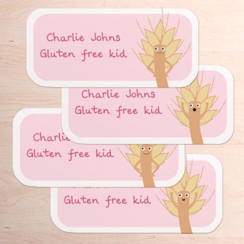 Gluten Free Labels