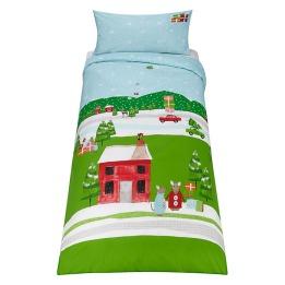 John Lewis Festive Mouse Bedding