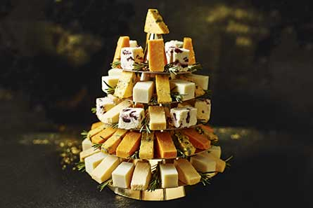 M&S Cheeseboard Bite Christmas Tree