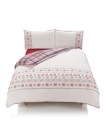 M&S Reindeer Bedding