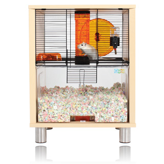 qute hamster cage