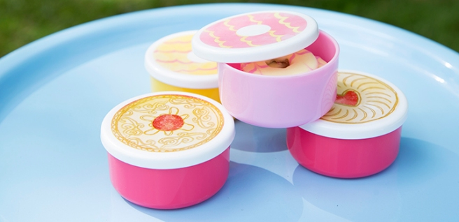 sass and belle snack pots