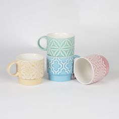 sass and belle stacking mugs