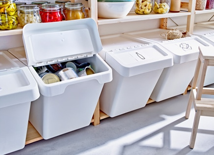 ikea recycling tubs
