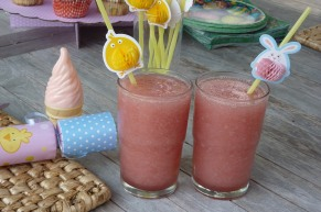 easter pink drinks