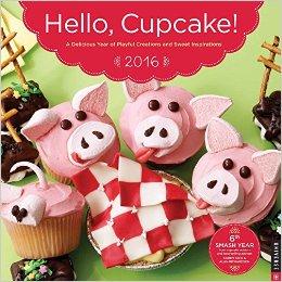 hello cupcake calendar 2016