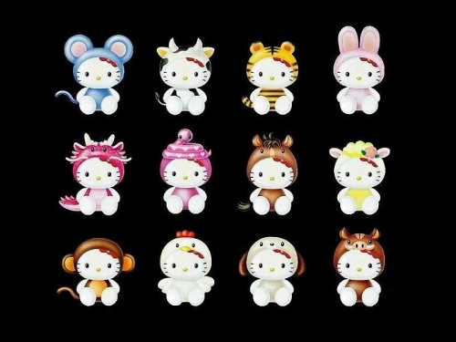 hello kitty chinese zodiac