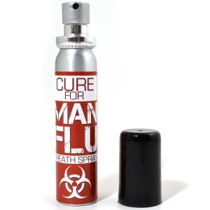 man flu mouth spray